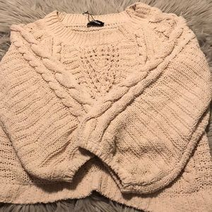 Extremely soft cream express sweater
